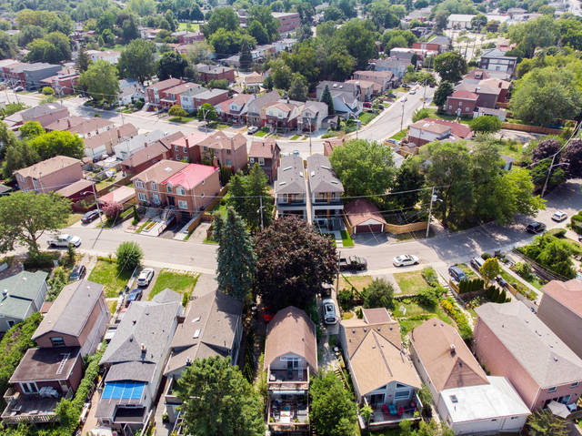 Drone Pic of East York