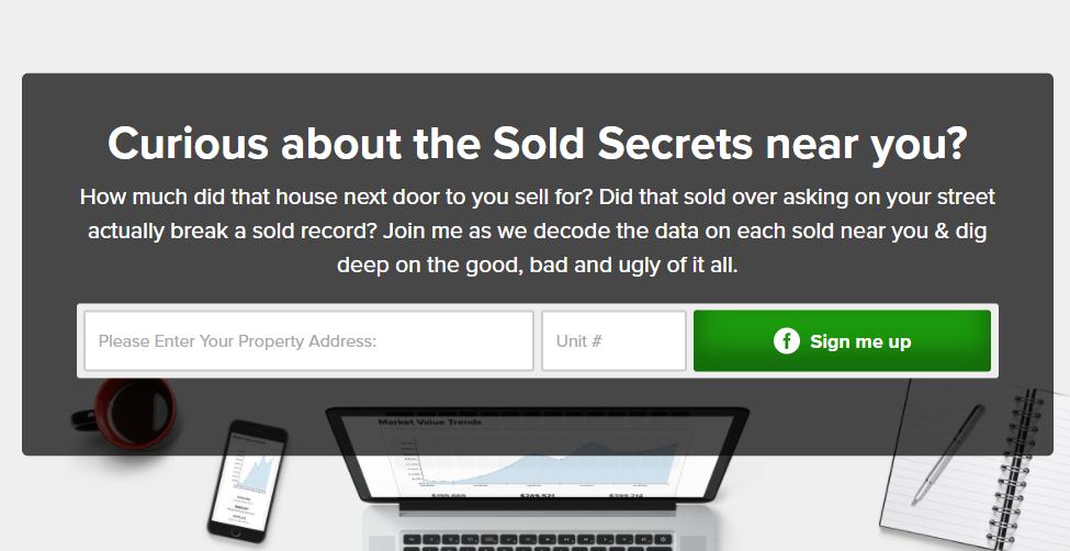 Sold Secrets Cover