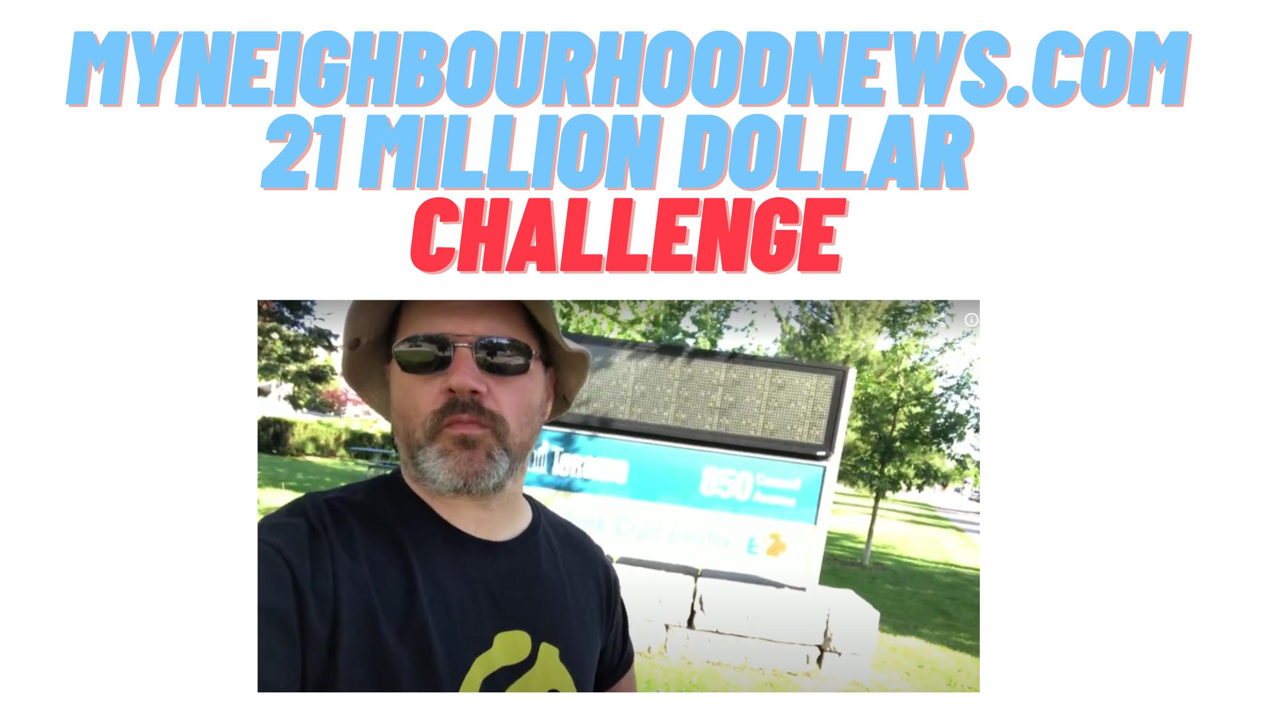 $21 Million Dollar Challenge