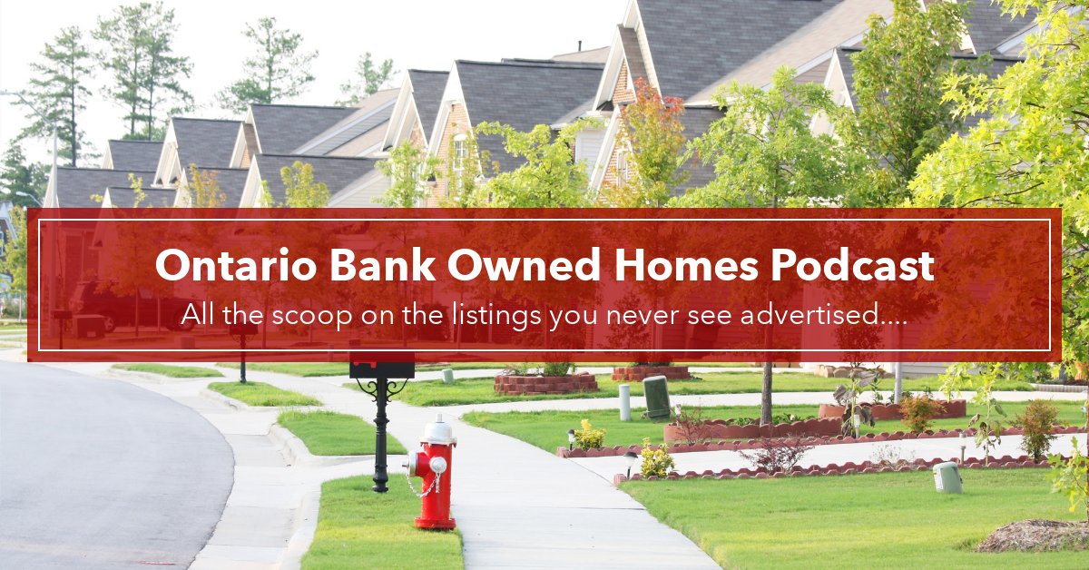 Ontario Bank Owned Homes
